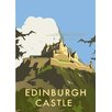 Star Editions Edinburgh Castle by Dave Thompson Vintage Advertisement Plaque