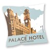 Star Editions Sofakissen The Palace Hotel, Manchester by Dave Thompson