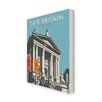 Star Editions Tate Britain by Dave Thompson Vintage Advertisement Wrapped on Canvas