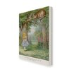 Star Editions Alice's Adventures in Wonderland Graphic Art Wrapped on Canvas