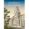 Star Editions The University of Manchester by Dave Thompson Vintage Advertisement