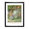 Star Editions Alice's Adventures in Wonderland by Arthur Rackham Framed Art Print