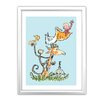 Star Editions Roald Dahl The Giraffe and the Pelly and Me by Quentin Blake Framed Art Print