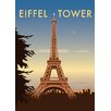 Star Editions The Eiffel Tower, Paris by Dave Thompson Vintage Advertisement