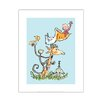Star Editions Roald Dahl The Giraffe and the Pelly and Me by Quentin Blake Art Print