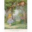 Star Editions Poster Alice's Adventures in Wonderland von Sir John Teniel, Grafikdruck