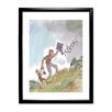 Star Editions Roald Dahl Danny the Champion of the World by Quentin Blake Framed Art Print