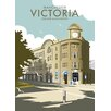 Star Editions Victoria Station, Manchester by Dave Thompson Vintage Advertisement