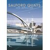 Star Editions Salford Quays, Greater Manchester by Dave Thompson Vintage Advertisement