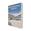 Star Editions Birmingham Central Library, by Dave Thompson Vintage Advertisement on Canvas