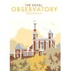 Star Editions The Royal Observatory, Greenwich by Dave Thompson Vintage Advertisement