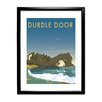 Star Editions Durdle Door, Dorset by Dave Thompson Framed Vintage Advertisement