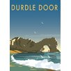 Star Editions Poster Durdle Door, Dorset, Grafikdruck von Dave Thompson