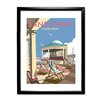 Star Editions Eastbourne Bandstand by Dave Thompson Framed Vintage Advertisement