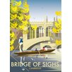 "Star Editions Poster ""Bridge of Sighs, Cambridge"" von Dave Thompson, Retro-Werbung"