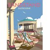 Star Editions Eastbourne Bandstand by Dave Thompson Vintage Advertisement Plaque