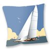 Star Editions Sofakissen Sailing Boat by Dave Thompson