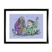 Star Editions Roald Dahl The Twits by Quentin Blake Framed Art Print