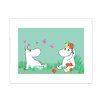 Star Editions Moomins Snorkmaiden and Moomintroll by Tove Jansson Graphic Art