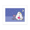Star Editions Moomins Moomintroll and Snorkmaiden by Tove Jansson Graphic Art