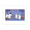"Star Editions Poster ""Moomins The Lovable Moomins"" von Tove Jansson, Grafikdruck"