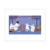 "Star Editions Poster ""Moomins The Lovable Moomins"" von Tove Jansson, Grafikdruck"