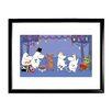 Star Editions Moomins the Lovable Moomins by Tove Jansson Framed Graphic Art