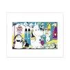 Star Editions Poster Moomins the Lovable Moomins, Grafikdruck