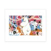 Star Editions Moomins The Lovable Moomins by Tove Jansson Art Print