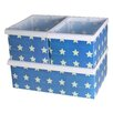 Jocca 3 Piece Star Box Organiser Set