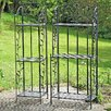 Boltze Tuscan Flower Stand (Set of 2)