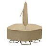 PCI by Adco Round Table and Chair Cover with Umbrella Hole