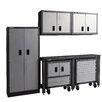 International 7' H x 8' W x 2' D 6 Piece Garage Storage System