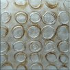 Benjamin Parker Galleries Square Circles Hand Painting on Wrapped Canvas