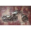 Benjamin Parker Galleries Born To Ride Mixed Media Wall Art