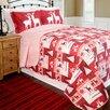 Pegasus Home Fashions Home ID Christmas Lodge Quilt Set