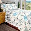 Pegasus Home Fashions Vintage Tiffany Quilt Set