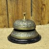 Geko Products Decorative Antique Embossed Desk Bell