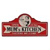 Besp-Oak Furniture Mums Kitchen Wall Décor
