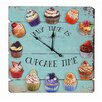 Besp-Oak Furniture Square Wooden Cake Time Clock