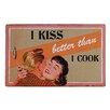 Besp-Oak Furniture I Kiss Better Than I Cook Wall Décor