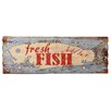 Besp-Oak Furniture Iron Cladding Fresh Fish Wall Décor