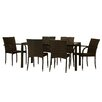 The-Hom Viva 7 Piece Dining Set