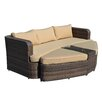 The-Hom Amelia 4 Piece Deep Seating Group with Cushions