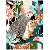 Cozamia Parrot in The Jungle Giclee Art Print