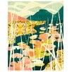 Cozamia Water Lilies Giclee Graphic Art