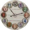 KARE Design Numero Colore XXL 100cm Analogue Wall Clock
