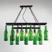 KARE Design Pendelleuchte Beer Bottles 3-flammig