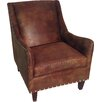 Carolina Classic Furniture Leather Club Chair