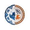 """Seletti Hybrid Isaura 10.8"""" Porcelain Dinner Plate"""